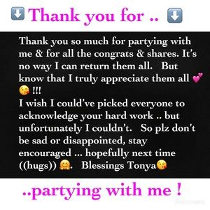 Other - 💕Thank you 💕